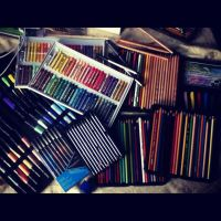 My Art Supplies by BryanChalas
