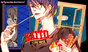 Kaito I LOVE MUSIC by PipeQuintero