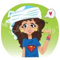 Superman is Love by WafaAlMarzouqi