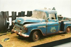 Chevy beater truck by finhead4ever