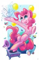 Pinkie Pie party print! by Hobbes-Maxwell