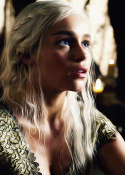 Daenerys Targaryen by Freedom4Arts