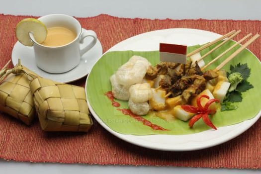 Sate Padang (IndonesianTraditional Food) by Miairdan