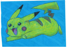 Pikachu by ConkerTSquirrel