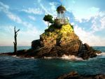 Island with no destination by Syrabi