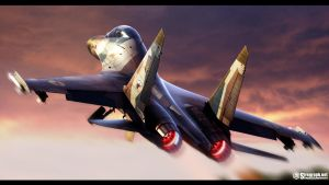 Su-27UB Ukrainian Air Force by Siregar3D