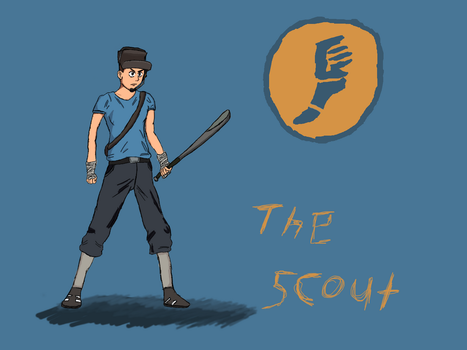 [TF2] The Scout by Dannyboy2013