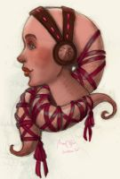 Pink Twi'lek by ScandinavianLullaby