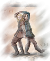 Durin Brothers Color by FlorideCuts