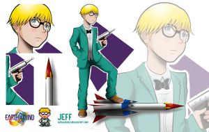 Earthbound:  Jeff by AeraAlbunea
