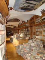 Antique Library 1 by LadyScale