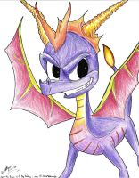 Spyro_Commission by IZZY-CHAN13