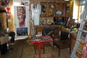 The MAN corner of the MAN cave by HotRod-302