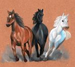 Horses by Heriplayer