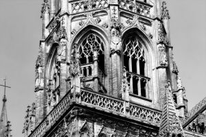 Cathedral of Bayeux Detail (2) by UdoChristmann