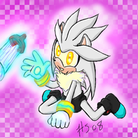Chibi Invasion: Silver by SonicRose