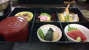 first lunch in Japan in day 1 by moonofheaven1