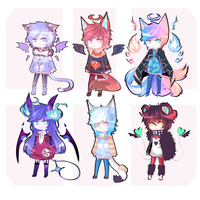 Cute Adoptables SetPrice [OPEN] by Nay-Minyu