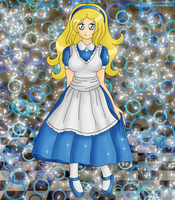 Alice in Wonderland by izka197