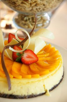 Tides: Mango Cheesecake by josephacheng