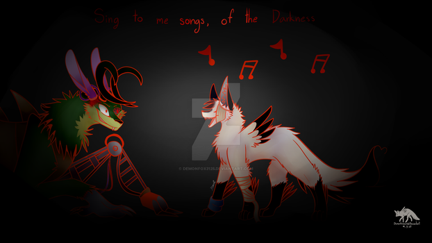 Song of the darkness by DemonFox3125