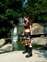 Tomb Raider Legend - waterfall by TanyaCroft