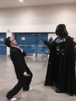 Final battle doctor vs darth vader by nicoflare