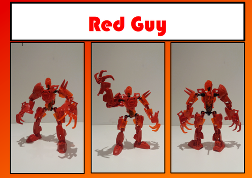 Red Guy MOC by Toa-Photon