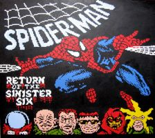 Spiderman and The Sinister Six by Squarepainter