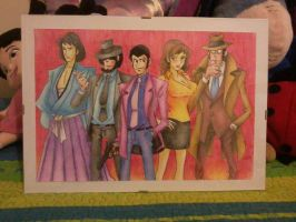 Lupin the 3rd by theskyinside