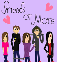 Friends or More Cover by 24Wolfy42