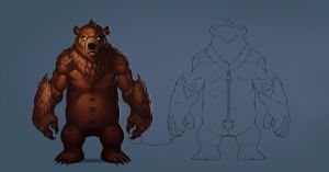 Bear Concept by IHONGKONG