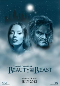 X-Men Origins: Beauty and the Beast  Teaser Poster by nei1b