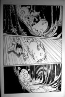 Page from Pig Warrior by Cgoose