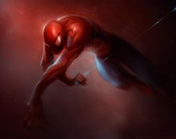 HEY LOOK another spiderman by HELMUTTT