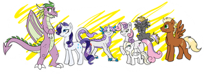 The Rarity Clan by ive-moved-bitches