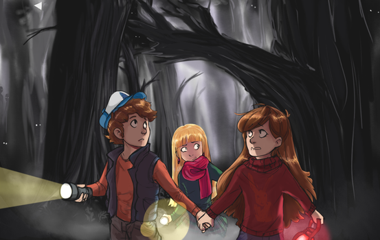 Into The Woods by MischiefCandlelite
