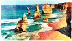 Twelve Apostles on Australian Coast by TemariAtaje
