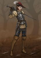 Haleigh the Mercenary by I-M-M-O