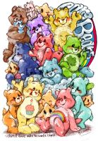 care bears by mofuwa