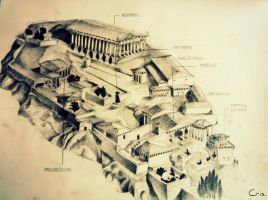 Acropolis by dr4wing-pencil