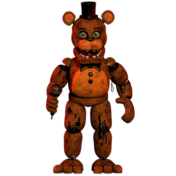 Withered Freddy Updated [DOWNLOAD] by CoolioArt