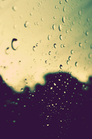 raindrops iphone retina wp by geyl
