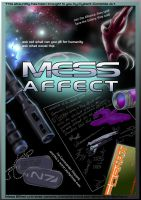 Mass Effect comic cover by CyberII