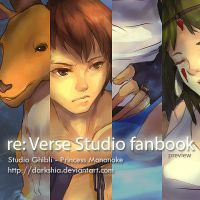 re:Verse fanbook: Princess Mononoke Preview by darkshia