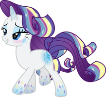 Rainbow Power Rarity by TheShadowStone