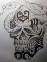 Serpent Skull by MayanMuscle