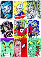 Even more Sketch Cards by Peterlc