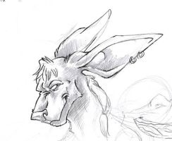 Booga Sketch by gryen