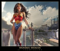 WONDER WOMAN by DouglasShuler